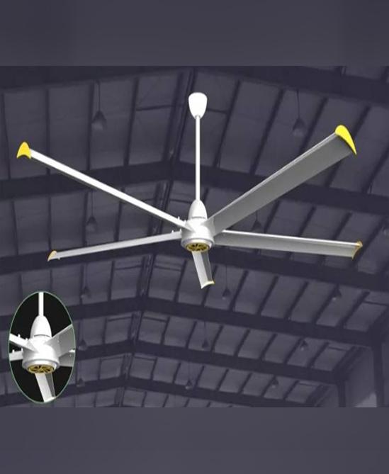 พัดลมยักษ์ติดเพดาน